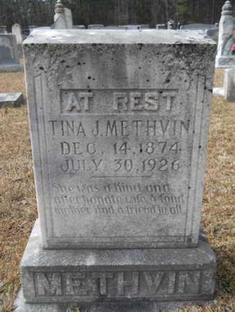 METHVIN, TINA J - Webster County, Louisiana   TINA J METHVIN - Louisiana Gravestone Photos