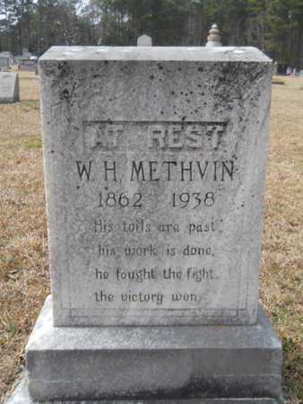 METHVIN, WILLIAM H - Webster County, Louisiana   WILLIAM H METHVIN - Louisiana Gravestone Photos
