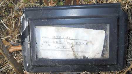 MILES, ARLETHA - Webster County, Louisiana | ARLETHA MILES - Louisiana Gravestone Photos
