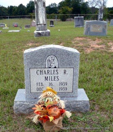 MILES, CHARLES R - Webster County, Louisiana | CHARLES R MILES - Louisiana Gravestone Photos