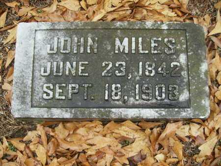 MILES, JOHN - Webster County, Louisiana   JOHN MILES - Louisiana Gravestone Photos