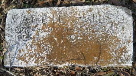 MILES, MAGGIE - Webster County, Louisiana | MAGGIE MILES - Louisiana Gravestone Photos