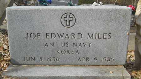 MILES, JOE EDWARD (VETERAN KOR) - Webster County, Louisiana | JOE EDWARD (VETERAN KOR) MILES - Louisiana Gravestone Photos