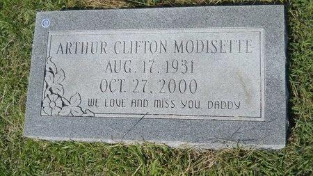 MODISETTE, ARTHUR CLIFTON - Webster County, Louisiana | ARTHUR CLIFTON MODISETTE - Louisiana Gravestone Photos