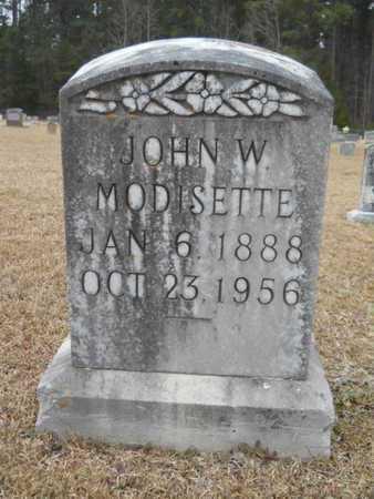 MODISETTE, JOHN W - Webster County, Louisiana | JOHN W MODISETTE - Louisiana Gravestone Photos