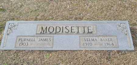 MODISETTE, PURNELL JAMES - Webster County, Louisiana | PURNELL JAMES MODISETTE - Louisiana Gravestone Photos