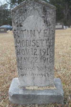 MODISETTE, TINY E - Webster County, Louisiana | TINY E MODISETTE - Louisiana Gravestone Photos