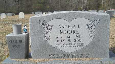 MOORE, ANGELA L - Webster County, Louisiana | ANGELA L MOORE - Louisiana Gravestone Photos