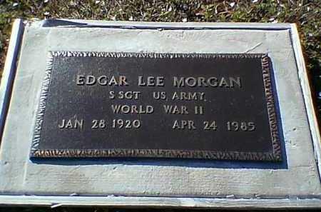 MORGAN, EDGAR LEE - Webster County, Louisiana | EDGAR LEE MORGAN - Louisiana Gravestone Photos