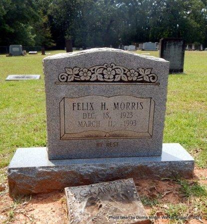 MORRIS, FELIX H - Webster County, Louisiana | FELIX H MORRIS - Louisiana Gravestone Photos