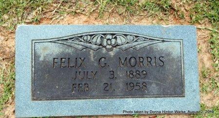 MORRIS, FELIX G - Webster County, Louisiana | FELIX G MORRIS - Louisiana Gravestone Photos