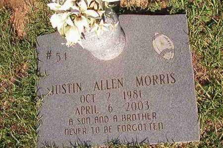 MORRIS, JUSTIN ALLEN - Webster County, Louisiana | JUSTIN ALLEN MORRIS - Louisiana Gravestone Photos