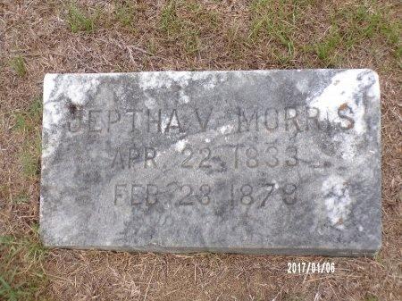 MORRIS, JEPTHA V - Webster County, Louisiana | JEPTHA V MORRIS - Louisiana Gravestone Photos
