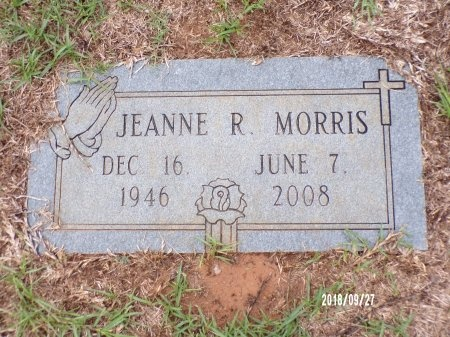 MORRIS, JEANNE - Webster County, Louisiana   JEANNE MORRIS - Louisiana Gravestone Photos