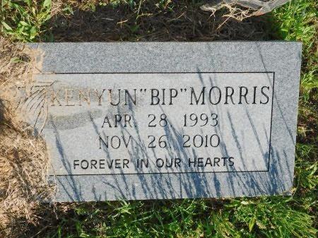 "MORRIS, KENYUN ""BIP"" - Webster County, Louisiana   KENYUN ""BIP"" MORRIS - Louisiana Gravestone Photos"
