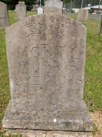 MORRIS, MONTY - Webster County, Louisiana | MONTY MORRIS - Louisiana Gravestone Photos