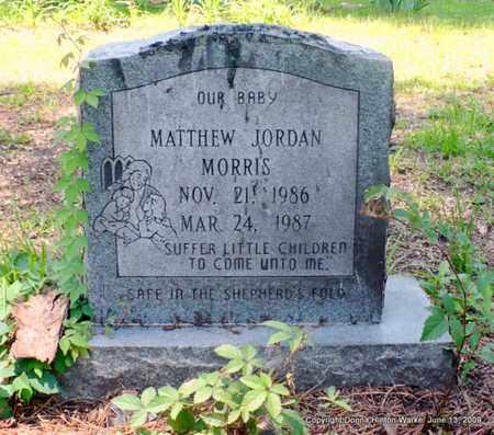 MORRIS, MATHEW JORDAN - Webster County, Louisiana   MATHEW JORDAN MORRIS - Louisiana Gravestone Photos