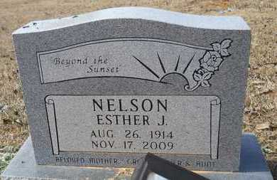 NELSON, ESTHER J - Webster County, Louisiana | ESTHER J NELSON - Louisiana Gravestone Photos