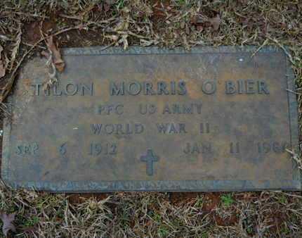 O'BIER, TILON MORRIS (VETERAN WWII) - Webster County, Louisiana | TILON MORRIS (VETERAN WWII) O'BIER - Louisiana Gravestone Photos