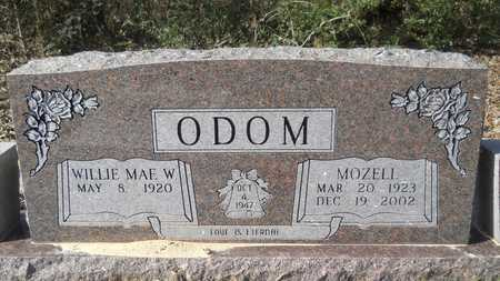ODOM, MOZELL - Webster County, Louisiana | MOZELL ODOM - Louisiana Gravestone Photos