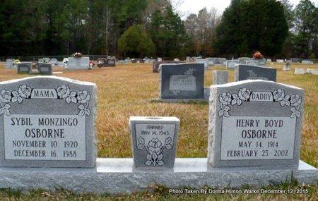 OSBORNE, SYBIL GLYNN - Webster County, Louisiana | SYBIL GLYNN OSBORNE - Louisiana Gravestone Photos