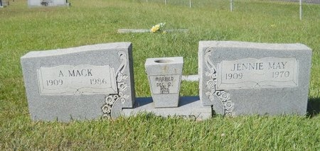 PARKER, A MACK - Webster County, Louisiana | A MACK PARKER - Louisiana Gravestone Photos