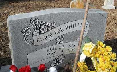 PHILLIPS, RUBIE LEE - Webster County, Louisiana   RUBIE LEE PHILLIPS - Louisiana Gravestone Photos
