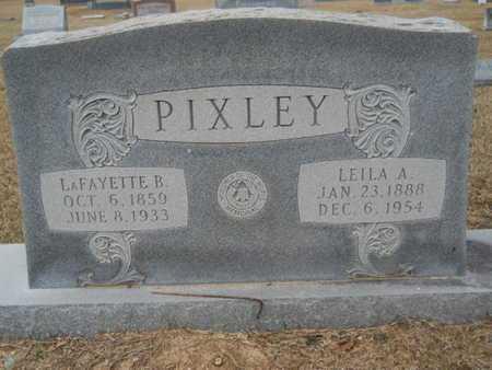 PIXLEY, LAFAYETTE BRYAN - Webster County, Louisiana | LAFAYETTE BRYAN PIXLEY - Louisiana Gravestone Photos