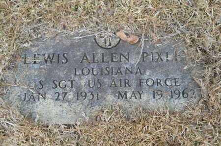 PIXLEY, LEWIS ALLEN (VETERAN) - Webster County, Louisiana | LEWIS ALLEN (VETERAN) PIXLEY - Louisiana Gravestone Photos