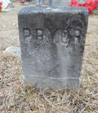 PRYOR, UNKNOWN - Webster County, Louisiana | UNKNOWN PRYOR - Louisiana Gravestone Photos