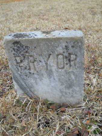PRYOR, UNKNOWN - Webster County, Louisiana   UNKNOWN PRYOR - Louisiana Gravestone Photos