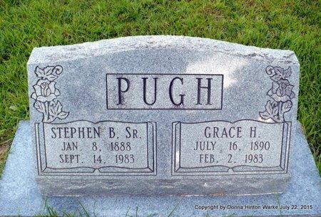 PUGH, STEPHEN BANNERMAN SR - Webster County, Louisiana | STEPHEN BANNERMAN SR PUGH - Louisiana Gravestone Photos