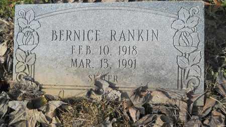 RANKIN, BERNICE - Webster County, Louisiana | BERNICE RANKIN - Louisiana Gravestone Photos