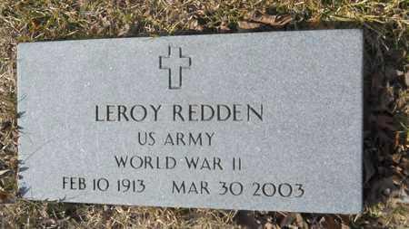 REDDEN, LEROY (VETERAN WWII) - Webster County, Louisiana   LEROY (VETERAN WWII) REDDEN - Louisiana Gravestone Photos