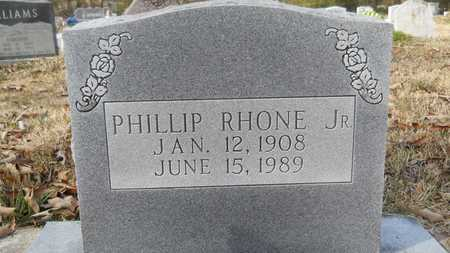 RHONE, PHILLIP, JR - Webster County, Louisiana | PHILLIP, JR RHONE - Louisiana Gravestone Photos