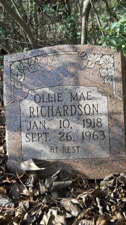 RICHARDSON, OLLIE MAE - Webster County, Louisiana | OLLIE MAE RICHARDSON - Louisiana Gravestone Photos