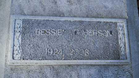 ROBERSON, BESSIE - Webster County, Louisiana | BESSIE ROBERSON - Louisiana Gravestone Photos
