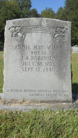 ROBINSON, ANNIE MAY - Webster County, Louisiana | ANNIE MAY ROBINSON - Louisiana Gravestone Photos