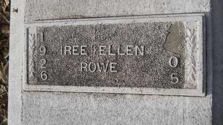 ROWE, IREE ELLEN - Webster County, Louisiana | IREE ELLEN ROWE - Louisiana Gravestone Photos