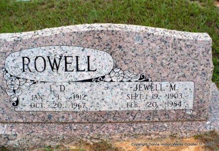 ROWELL, LARELL DEVLIN - Webster County, Louisiana | LARELL DEVLIN ROWELL - Louisiana Gravestone Photos