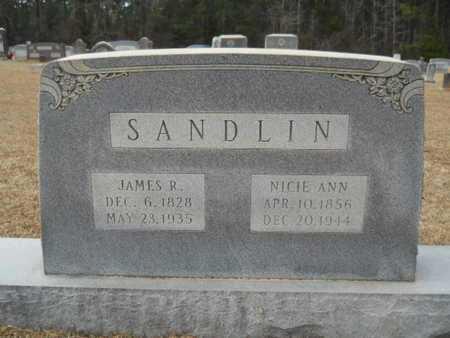 SANDLIN, NICIE ANN - Webster County, Louisiana   NICIE ANN SANDLIN - Louisiana Gravestone Photos