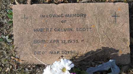 SCOTT, HUBERT CALVIN - Webster County, Louisiana | HUBERT CALVIN SCOTT - Louisiana Gravestone Photos