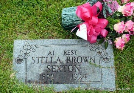 BROWN SEXTON, STELLA - Webster County, Louisiana   STELLA BROWN SEXTON - Louisiana Gravestone Photos