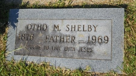 SHELBY, OTHO M - Webster County, Louisiana | OTHO M SHELBY - Louisiana Gravestone Photos