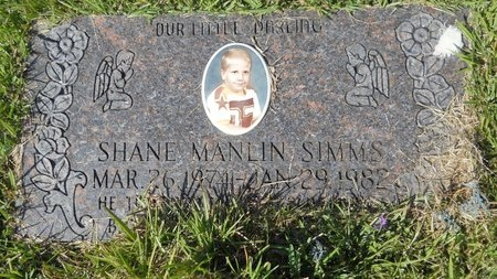 SIMMS, SHANE MANLIN - Webster County, Louisiana | SHANE MANLIN SIMMS - Louisiana Gravestone Photos