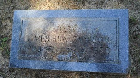 SIMPSON, JAMES IRA - Webster County, Louisiana | JAMES IRA SIMPSON - Louisiana Gravestone Photos