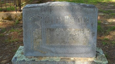 SIMPSON, WILLIAM RAPHEY - Webster County, Louisiana | WILLIAM RAPHEY SIMPSON - Louisiana Gravestone Photos