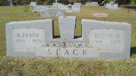 SLACK, BENJAMIN FRANKLIN - Webster County, Louisiana | BENJAMIN FRANKLIN SLACK - Louisiana Gravestone Photos