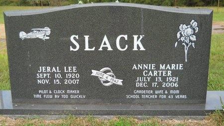 SLACK, ANNIE MARIE - Webster County, Louisiana | ANNIE MARIE SLACK - Louisiana Gravestone Photos