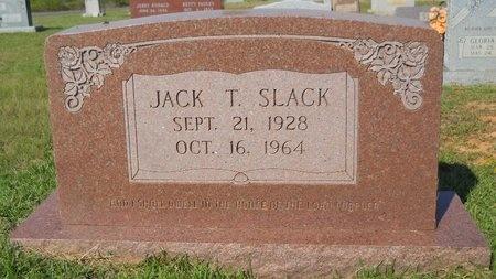 SLACK, JACK T - Webster County, Louisiana   JACK T SLACK - Louisiana Gravestone Photos